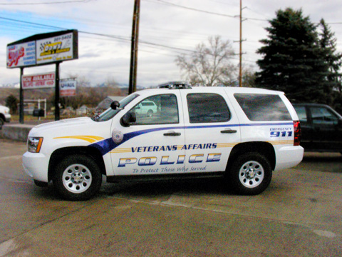 Veteran Affairs Car Wrap - B-Line Signs Inc Boise Idaho